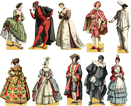 wsg10 figure's commedia dell'arte